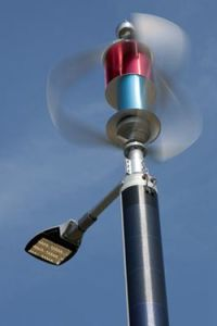 Wind Solar Hybrid Street Light System (Street Light 300W) pictures & photos