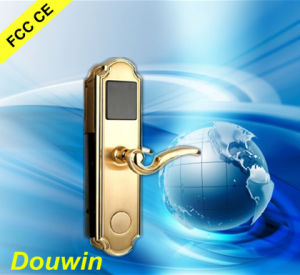High Security Electronic Hotel Card Key Door Lock pictures & photos