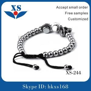 Stainless Steel Skull Bracelets Custom Bead Bracelets pictures & photos