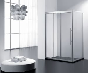 Three Panel Sliding Shower Cabin\ Linkage-Connect Shower Room\ 3 Sliding Shower Enclsoure pictures & photos