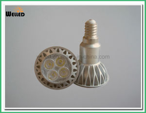 5W 6W High Power JDR LED Spotlight Lamp E27 with 6PCS SMD LED Bulb Light pictures & photos
