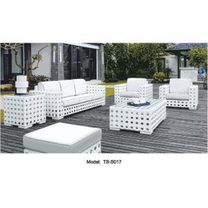 Rattan Leisure Patio Outdoor Modern Dining Sofa for Garden