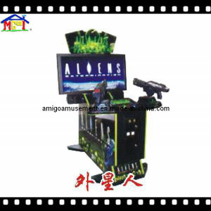 Indoor Arcade Game Machine Simulated Shooting Game The Aliens pictures & photos
