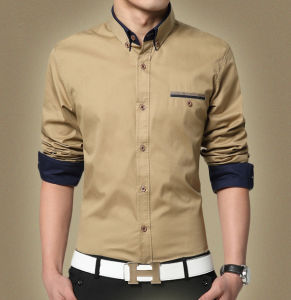 Custom Made Cotton Business Casual Shirt
