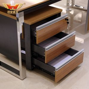 Fashion Design Bamboo Venner L Shape Desk Modern Office Furniture pictures & photos