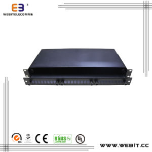 New Design 24 Port Blank Fiber Patch Panel pictures & photos