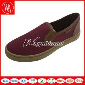 Leisure Plain Men Shoes Comfort Canvas Casual Shoes pictures & photos