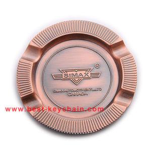 Souvenir Custom Promotion Metal Plate Gift Ashtray (BK53352) pictures & photos