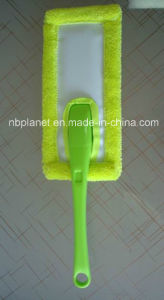 Microfiber Rectangle Plastic Grip Cleaning Duster pictures & photos