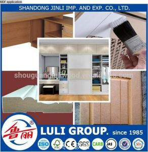 1830*3660mm Plain MDF From Luli Group pictures & photos