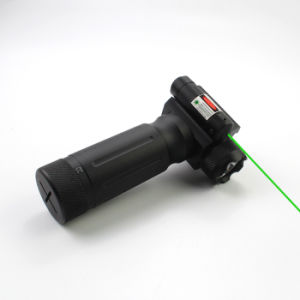 Tactical Foregrip 750 Lumens LED Flashlight with Green Laser pictures & photos