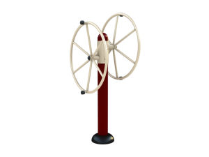 Taichi Wheel Outdoor Fitness Equipment pictures & photos