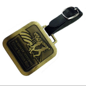 Factory Direct Metal Golf Luggage Tag, No MOQ pictures & photos