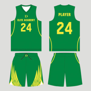 Personalized Boys and Girls Sublimated Reversible Basketball Uniform with Your Logo pictures & photos