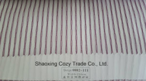 New Popular Project Stripe Organza Voile Sheer Curtain Fabric 0082111 pictures & photos