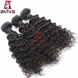 100% Top Quality Deep Wave Virgin Brazilian Curly Human Hair pictures & photos