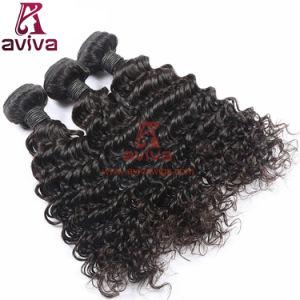 100% Top Quality Deep Wave Virgin Brazilian Curly Human Hair pictures & photos