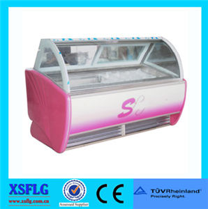 Portable Popsicles Ice Cream Display Freezer for Sell pictures & photos