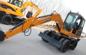 High Quality Wheel Excavator with Price for Sale in China in Asia pictures & photos