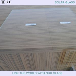 3.2mm Solar Glass with Tempered Glass in Low Iron Glass pictures & photos