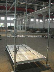 Construction Steel Working Platform Kwikstage Scaffolding System