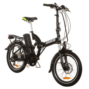 Full Suspension 250W Motor & 10ah Lithium Battery Folding Electric Bike (JB-TDN05Z) pictures & photos