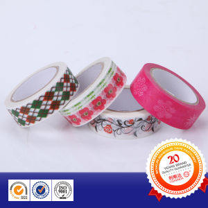 Custom Printed Cartoon Washi Stationery Tape pictures & photos
