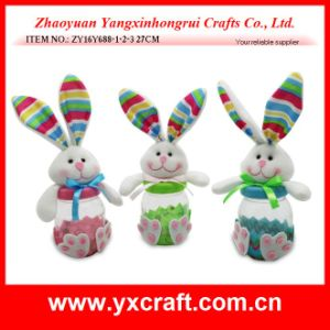 Easter Decoration (ZY16Y688-1-2-3) Children Gift Easter Decoration Toys for Kids Rabbit pictures & photos