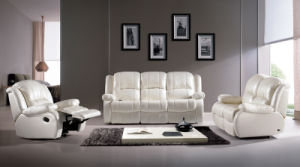 Leather Fabric Reclining Sofa Bed Chair Home Cinema Furniture Recliner pictures & photos