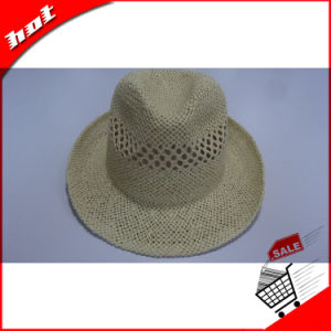 Paper Straw Fedora Panama Sun Hat pictures & photos