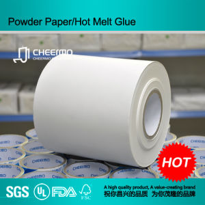 Art Paper Hot Melt Glue Sticker