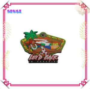 Soft PVC Rubber Hawaii Magnetic Souvenir Memo Holder