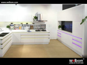 Metallic Spray Lacquer Kitchen Cupboard pictures & photos