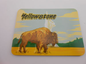 Landscape Badge, Yellowstone Lapel Pin Custom Badge (GZHY-KA-038) pictures & photos
