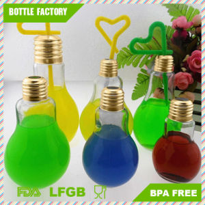 150ml Bulb Shape Glass Water Cup with Tumbler pictures & photos