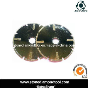Granite Electroplated Cutting Europe 105mm Diamond Disc pictures & photos