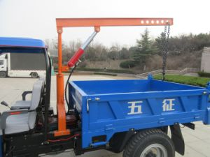 Three Wheel Truck with Crane pictures & photos