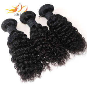 Wholesale 100% Remy Hair Jerry Curl Indian Virgin Hair Weaving pictures & photos