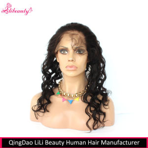 8A Indian Virgin Hair Loose Wave 360 Lace Frontals with Baby Hair pictures & photos