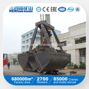 Electro-Hydraulic Wireless Remote Control Clamshell Grab Bucket pictures & photos