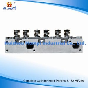 Engine Complete Cylinder Head for Perkins 3.152 Mf240 Mf135 Zz80048 pictures & photos