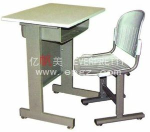 Hot Sale School Furniture Student Single Desk & PP Chair pictures & photos