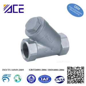 Stainless Steel Threaded End Y-Strainer pictures & photos