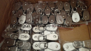 Stainless Steel Rope Single Lifting Swivel Pully pictures & photos