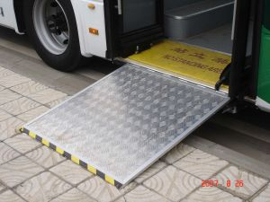 Wheelchair Ramp for Low Floor Bus pictures & photos