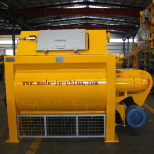 Js1000 High Quality Twin Shaft Concrete Mixer