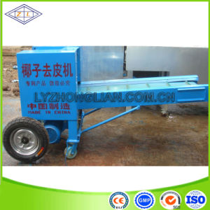 Fresh Coconut Skin Sheller Machine/Dry Coconut Skin Peeler pictures & photos