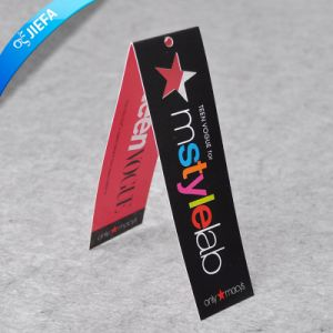Customized Garment Tags, Printed Paper Clothing Hangtag pictures & photos