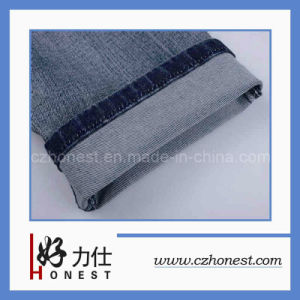 Cotton/Polyester Jeans Fabric (HLS-GB295)