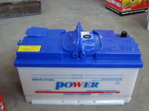DIN100 Dry Charged Heavy Duty Truck Battery pictures & photos